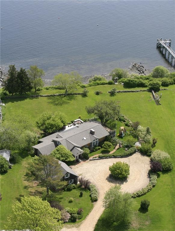 A 3-ACRE PROPERTY overlooking the East Passage from Jamestown sold for $2.5 million in January, the most expensive sale so far this year on the island. / COURTESY LILA DELMAN REAL ESTATE