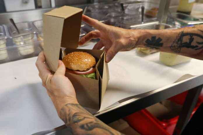 COLLECTIONS OF THE 1 percent meal and beverage tax in Rhode Island have increased 11.4 percent year over year through the first six months of fiscal 2018 to $15.2 million. / BLOOMBERG FILE PHOTO/LUKE MACGREGOR