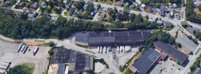 LINCOLN FREIGHT TERMINAL INC. recently sold a 213,500-square-foot industrial building on nearly 6 acres at 50 Industrial Circle in Lincoln for $1.4 million. / COURTESY SWEENEY REAL ESTATE AND APPRAISAL