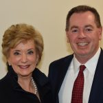 SBA ADMINISTRATOR Linda McMahon and newly-appointed Region I Regional Administrator Wendell G. Davis. / COURTESY SBA RHODE ISLAND