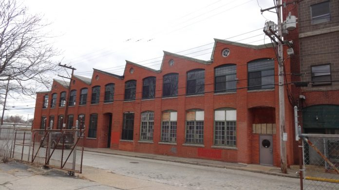THE JENCKES SPINNING Weave Shed is now a part of the National Register of Historic Places as part of the Jenckes Spinning Company Historic District in Pawtucket. / COURTESY HISTORICAL PRESERVATION & HERITAGE COMMISSION