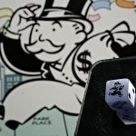 """HASBRO HAS GIVEN IN to the inclination of many players of Monopoly to bend the rules, with a new Monopoly """"Cheater's Edition,"""" which will be sold starting in the fall. / BLOOMBERG NEWS PHOTO/DANIEL ACKER"""
