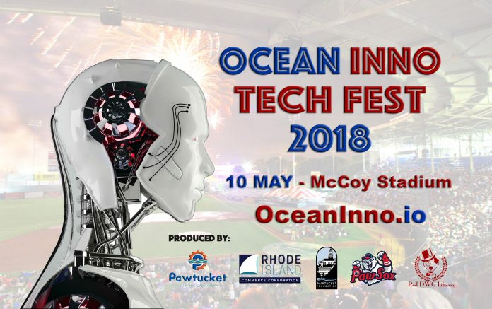 THE OCEAN INNO Tech Fest 2018 on May 10 at McCoy Stadium in Pawtucket will feature virtual reality, artificial intelligence, robotics and professional drone racing. / COURTESY CITY OF PAWTUCKET