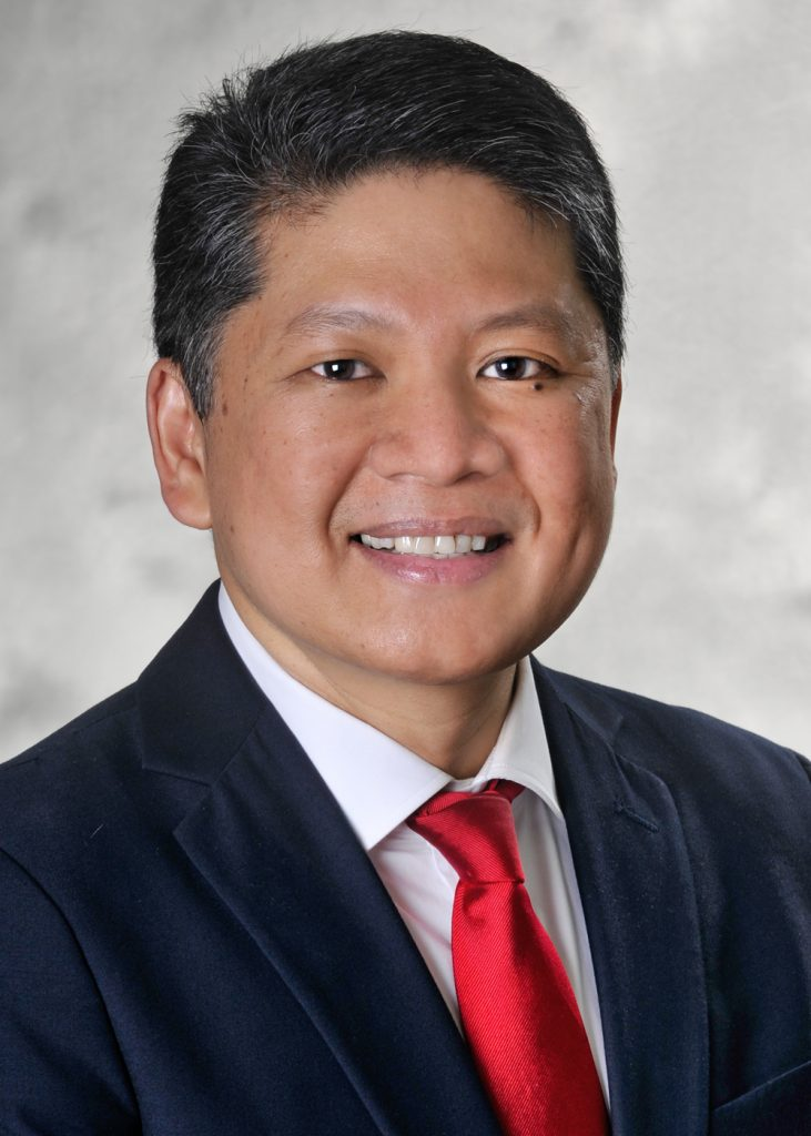 DR. JOSE BERNARDO QUINTOS is director of the Diabetes Outpatient Education Center and division chief of pediatric endocrinology and diabetes at Hasbro Children's Hospital in Providence. / COURTESY LIFESPAN CORP.