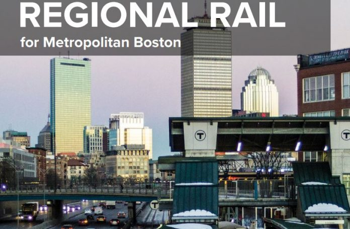 A REPORT FROM TRANSITMATTERS suggests increasing the frequency, hours and speed of the commuter rail in order to modernize it to a regional rail system that might be utilized better, both during peak and non-peak hours. / COURTESY TRANSITMATTERS