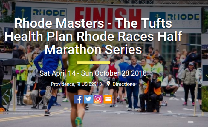 TUFTS HEALTH PLAN has been named the official presenting sponsor of the 2018 Rhode Races Half Marathon Series, which kicks off with the Newport Road Race at Easton's Beach on Saturday, April 14. / COURTESY RHODE RACES & EVENTS
