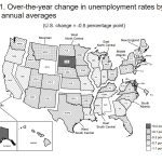 RHODE ISLAND 2017 UNEMPLOYMENT rate average declined 0.7 percentage points year over year to 4.5 percent. / COURTESY BLS