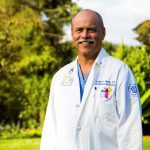 DR. RUSSELL E. WHITE, a cardiothoracic surgeon from University Surgical Associates, received a $500,000 L'Chaim Prize honoring his work as chief of surgery at Tenwek Mission Hospital in Kenya. / COURTESY LIFESPAN CORP.