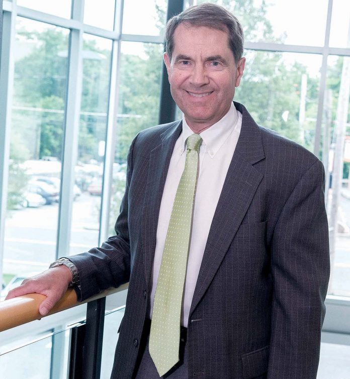 PAWTUCKET CREDIT UNION President and CEO George Charette says the credit union's new operations center is almost finished and employees are expected to move into the Pawtucket facility in January. / PBN FILE PHOTO/MICHAEL SALERNO