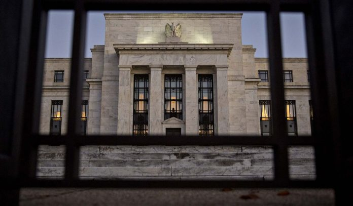 THE FEDERAL RESERVE unanimously voted to lift the federal funds rate target range from 1.5 percent to 1.75 percent. BLOOMBERG FILE PHOTO/ANDREW HARRER
