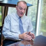 RONALD K. MACHTLEY'S presidency at Bryant University has been extended through 2022. / PBN FILE PHOTO/MICHAEL SALERNO