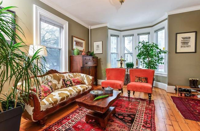 AN INTERIOR SHOT of a duplex at 25 Hudson St. in the popular Armory District of Providence sold recently for $415,000, the highest price in the neighborhood for a two-family since 2009. / MOTT & CHACE SOTHEBY'S INTERNATIONAL REALTY