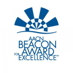 THE CARDIOTHORACIC INTENSIVE CARE nursing staff at Rhode Island Hospital has won a Silver Beacon Award from the American Association of Critical-Care Nursing.