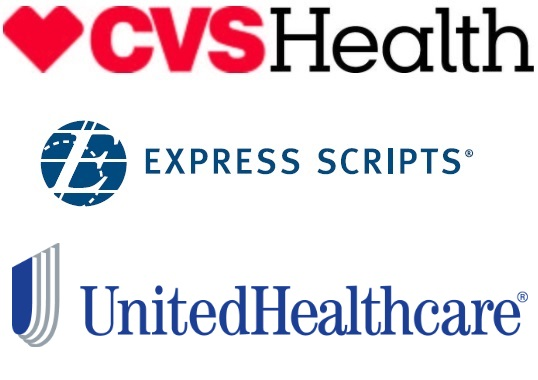 THREE PHARMACY-BENEFIT MANAGERS - CVS Health, Express Scripts and UnitedHealthcare - control more than 70 percent of the market, including more than half of the $138 billion specialty drug prescription market.