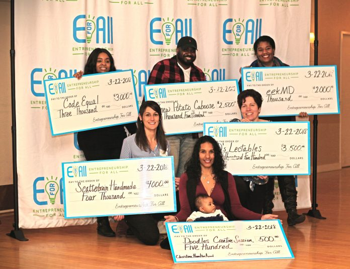 THE LATEST ENTREPRENEURSHIP for All cohort awardees have been announced, sharing in $15,000 to help grow their businesses. / COURTESY EFORALL