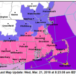 A WINTER STORM WARNING remains in effect for all of Rhode Island and southeastern Massachusetts. / COURTESY NWS