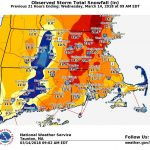 THE MAJORITY OF the New England region was blanketed with at least 1 foot of snow from Tuesday's nor'easter, with some communities in Rhode Island receiving more than 20 inches. / COURTESY NATIONAL WEATHER SERVICE