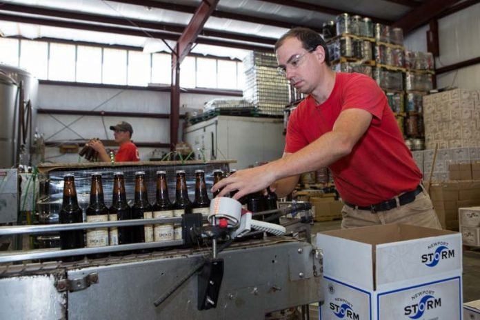THE TRUMP ADMINISTRATION'S proposed 25 and 10 percent tariffs on steel and aluminum, respectively, will increase prices on those imports and has inspired European Union retaliatory tariffs on U.S. bourbon, both of which would negatively affect the state's brewing and distillery industries, according to a recent analysis by the Brookings Institution. / PBN FILE PHOTO/ KATE WHITNEY LUCEY