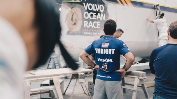 VESTAS 11TH HOUR RACING will rejoin the Volvo Ocean Race for Leg 7 from Auckland, New Zealand, to Itajaí, Brazil. / COURTESY VOLVO OCEAN RACE