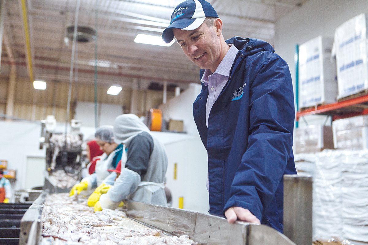 The Town Dock Thrives Using Lean Management Team Work In Calamari Processing Providence Business News Towndock.net has news and views from oriental and pamlico county, north carolina. the town dock thrives using lean