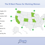 THE PROVIDENCE METRO ranked No. 8 in Magnify Money's 10 Best Places for Working Women report. / COURTESY MAGNIFY MONEY