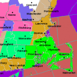 FRIDAY'S STORM has already caused power outages in Rhode Island and Massachusetts and is expected to intensify throughout the course of the day. / COURTESY NWS