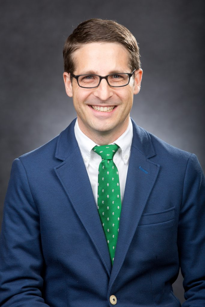 TODD M. OLSZEWSKI, assistant professor of health policy at Providence College, won the Stanley Jackson Prize for the best paper in the Journal of the History of Medicine and Allied Sciences. / COURTESY PROVIDENCE COLLEGE