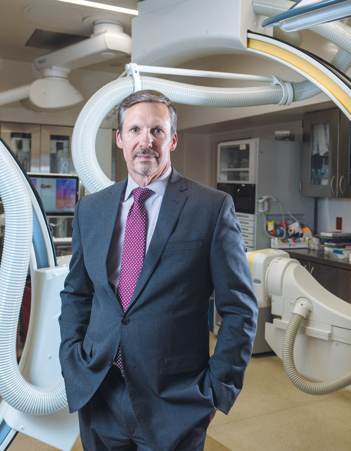 Keith A. Hovan joined Southcoast Health System Inc. in 2008 as president of subsidiary Southcoast Hospitals Group and moved into the health care system's top job in 2011. / PBN PHOTO/RUPERT WHITELEY