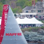 MAKING A SCENE: The Volvo Ocean Race brought hundreds of thousands to Newport and its environs in 2015. Rhode Island is about to be visited by the race once again in May, with at least as many visitors also expected.