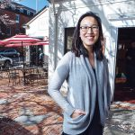 NEW OWNER: Joanne Chang, new owner of Olga's Cup and Saucer in Providence's Jewelry District, purchased the neighborhood restaurant for $660,000 in November. She says the arrival of the Cambridge Innovation Center and construction of new housing in the district attracted her interest. / PBN PHOTO/­RUPERT ­WHITELEY