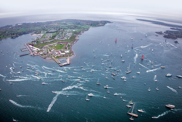 NEWPORT RANKED NO. 15 for U.S. News and World Report's Best Summer Vacations in the USA and No. 18 in the world. / COURTESY VOLVO OCEAN RACE