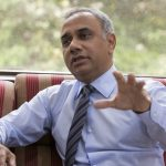 SALIL PAREKH, CEO of Infosys Ltd, speaks during an interview in Bengaluru, India, on Tuesday / BLOOMBERG FILE PHOTO/SAMYUKTA LAKSHMI