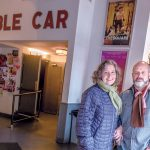 HUSBAND AND WIFE TEAM Daniel Kamil and Emily Steffian, co-owners of the Cable Car Cinema and Café in Providence, announced the business close on May 27. / PBN PHOTO/MICHAEL SALERNO