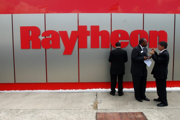 RAYTHEON WAS AWARDED an $83 million contract to develop, test and deploy an autonomous unmanned underwater vehicle mine neutralization system that will be primarily developed in Rhode Island. / BLOOMBERG FILE PHOTO/ALASTAIR MILLER