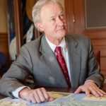 "FORMER GOV. LINCOLN CHAFEE told PBN he is ""90 percent"" sure he will run in the 2018 Rhode Island Senate primary race against sitting Democratic Sen. Sheldon Whitehouse. / PBN FILE PHOTO/TRACY JENKINS"