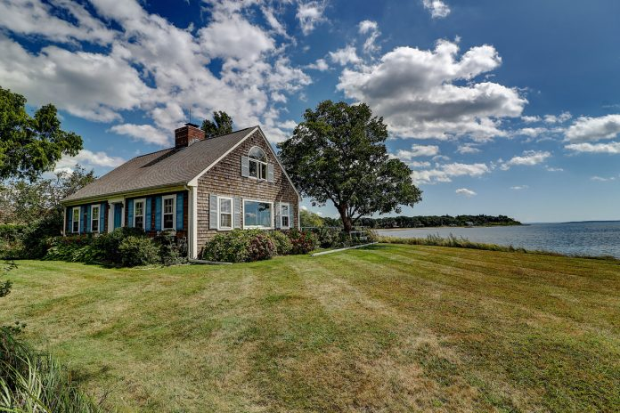 A SHINGLE-STYLE COLONIAL at 61 Appian Way in Barrington has sold for $1.1 million, the third sale in the town topping the million-dollar mark this year. / COURTESY RESIDENTIAL PROPERTIES