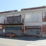 A COMMUNITY MEMBER has agreed to purchase the Bomes Theater at 1017 Broad St. in Providence, with an interest to renovate and reopen the building, which is owned by the city and has been vacant since 2004. / PBN PHOTO/MARY MACDONALD