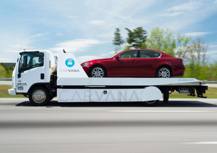 THE CARVANA ONLINE car-buying service is now offered in Providence. / COURTESY CARVANA