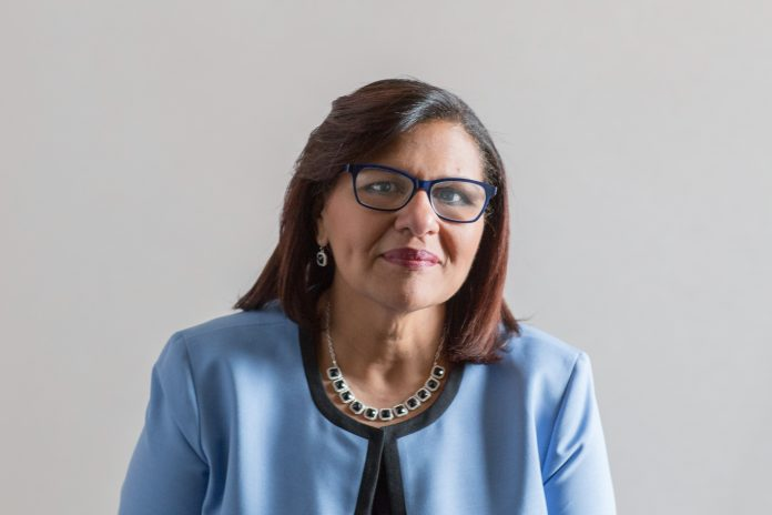 CARMEN DÍAZ-JUSINO has been named strategic initiative officer for economic security at the Rhode Island Foundation. / COURTESY RHODE ISLAND FOUNDATION
