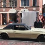 "EAST GREENWICH-BASED Verdi Productions recently completed location filming in downtown Providence for ""Valut,"" a movie that recounts the $30 million robbery of the Patriarca crime family in the 1970s. / PBN PHOTO/ELI SHERMAN"