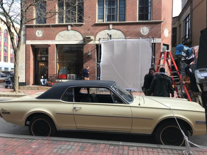 EAST GREENWICH-BASED Verdi Productions recently completed location filming in downtown Providence for