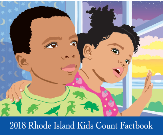 The RI KIDS COUNT Fact book places RI among the three highest in the U.S. for the percentage of children with health insurance, at 98 percent. / COURTESY RHODE ISLAND KIDS COUNT