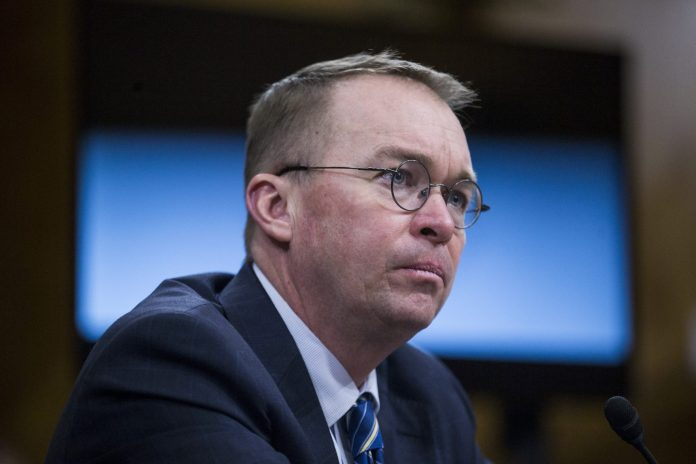 "MICK MULVANEY, acting director of the Consumer Financial Protection Bureau, says the bureau is ""too powerful"" and is requesting Congress make changes that would effectively make the bureau less independent. / BLOOMBERG FILE PHOTO/ZACH GIBSON"