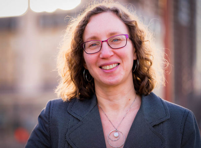 JULIE PLAUT has been hired by Brown University to fill the newly created assistant dean of the college and director of faculty engagement and research position. / COURTESY BILL CLEMENTS