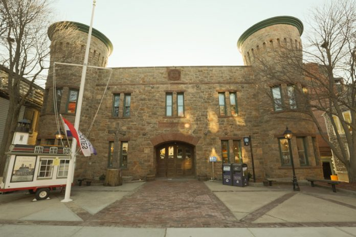 "NEWPORT CITY SOLICITOR Christopher Behan has released a ""letter of interest"" outlining the possible terms of a sale of the city's armory, above, to the National Sailing Hall of Fame for $1.7 million. / COURTESY JUST ASK/SCOTT KINGSLEY"