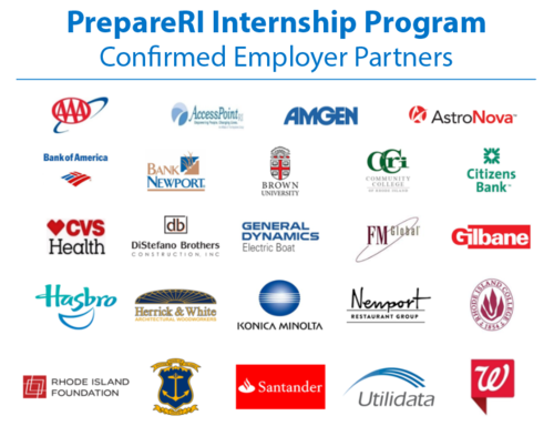 MORE THAN 20 COMPANIES have confirmed their participation in the PrepareRI  internship program. / COURTESY