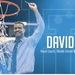 DAVID COX has been named coach of the University of Rhode Island's men's basketball team. / COURTESY URI