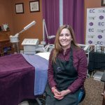 TOP AESTHETICIAN: Michelle Maynard, owner of 360 Face Mind Body in Coventry, was named a finalist in the holistic category of the international skin-care competition Skin Games. / PBN FILE PHOTO/MICHAEL SALERNO