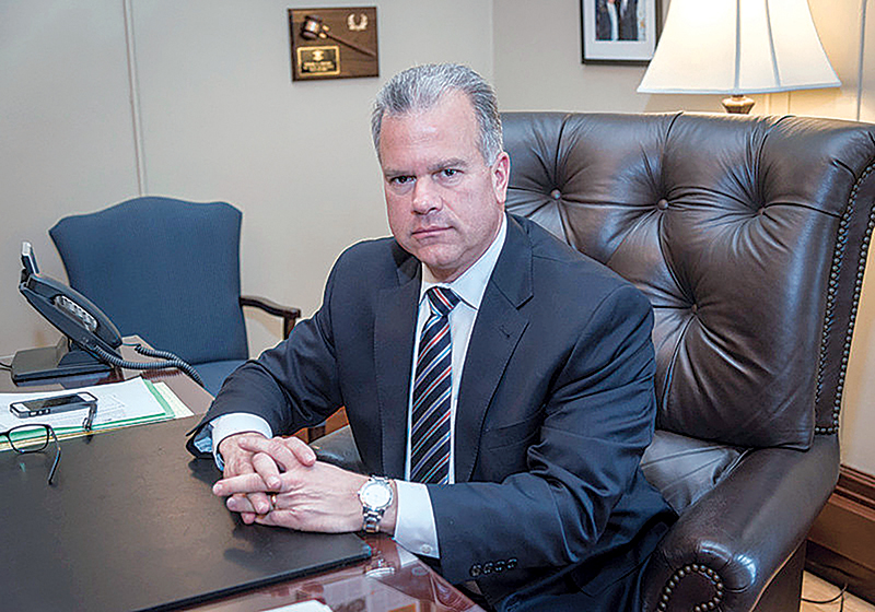 STATE ISSUES: House Speaker Nicholas A. Mattiello will talk about issues being debated at the Statehouse, at the Northern Rhode Island Chamber of Commerce's Eggs & Issues breakfast on May 16 at the Kirkbrae Country Club in Lincoln.  / PBN FILE PHOTO/MICHAEL SALERNO