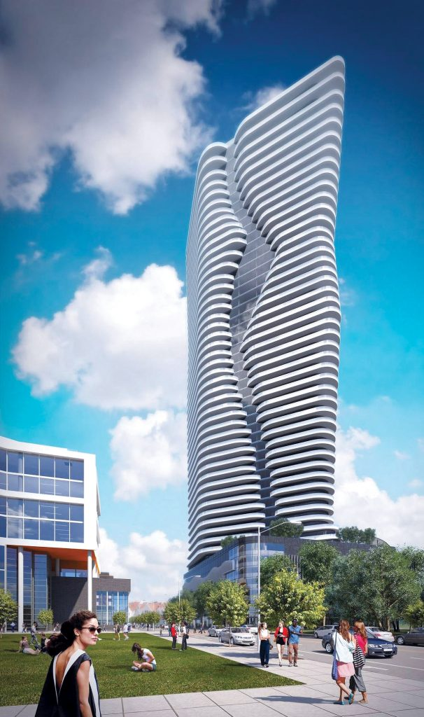 THE PROVIDENCE City Council on Thursday pushed forward a zoning change that would allow a New York developer to construct the city's tallest building.Above, a rendering of the Hope Point Tower. / COURTESY FANE ORGANIZATION